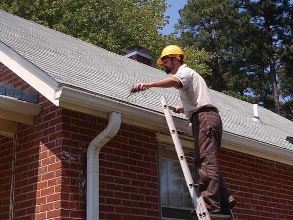 Cleaning Gutters - Image Credit: https://www.flickr.com/photos/usfwsnortheast/6086748364